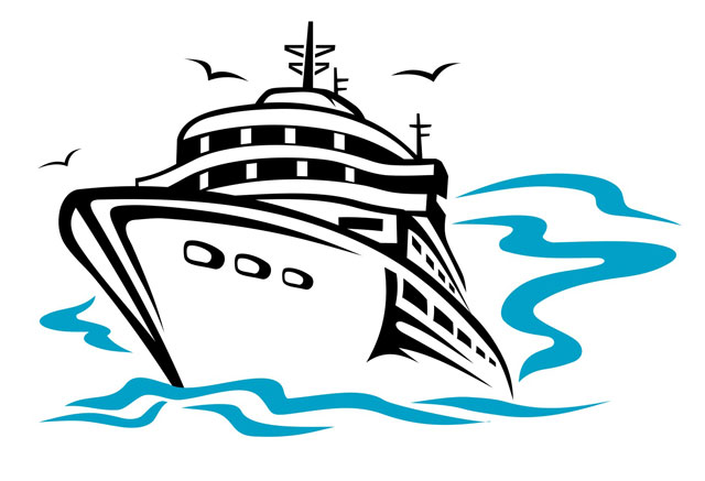 free clip art cartoon cruise ship - photo #6